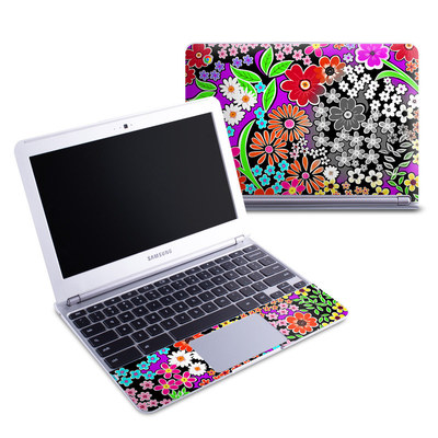 Samsung 11-6 Chromebook Skin - A Burst of Color