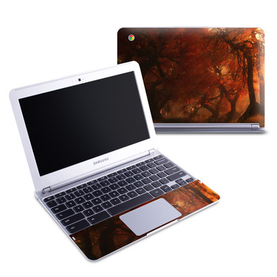 Samsung 11-6 Chromebook Skin - Canopy Creek Autumn