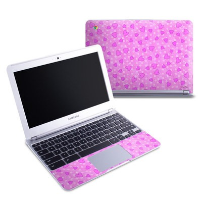 Samsung 11-6 Chromebook Skin - Candy Hearts