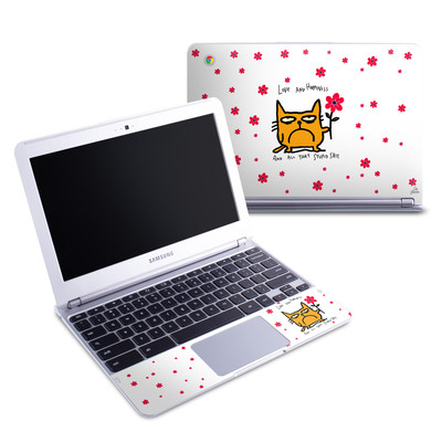 Samsung 11-6 Chromebook Skin - Catwad Happy