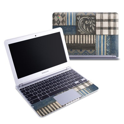 Samsung 11-6 Chromebook Skin - Country Chic Blue