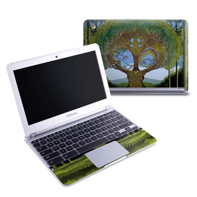 Samsung 11-6 Chromebook Skin - Celtic Tree