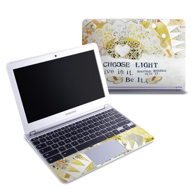 Samsung 11-6 Chromebook Skin - Choose Light