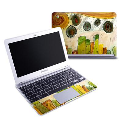 Samsung 11-6 Chromebook Skin - City Life