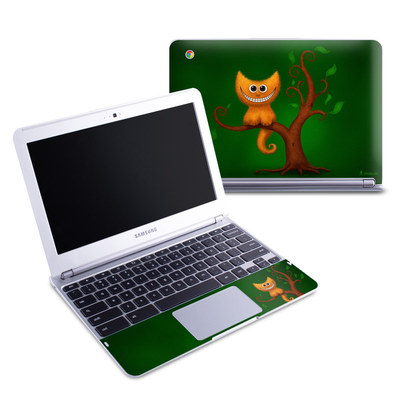 Samsung 11-6 Chromebook Skin - Cheshire Kitten