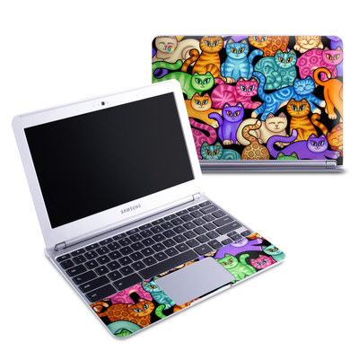 Samsung 11-6 Chromebook Skin - Colorful Kittens