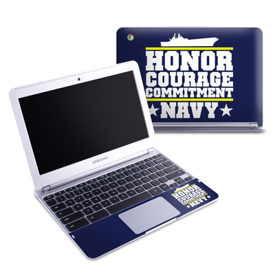 Samsung 11-6 Chromebook Skin - Commitment