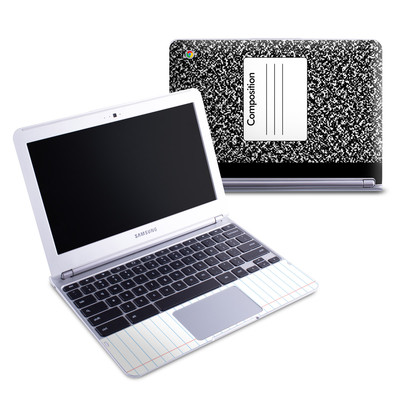 Samsung 11-6 Chromebook Skin - Composition Notebook