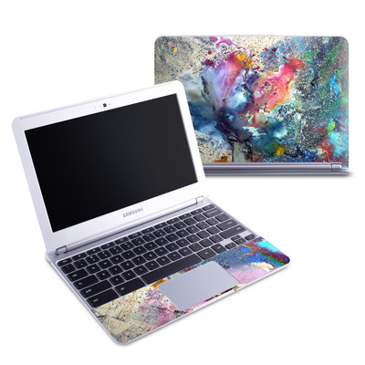 Samsung 11-6 Chromebook Skin - Cosmic Flower