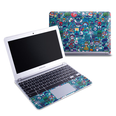 Samsung 11-6 Chromebook Skin - Cosmic Ray