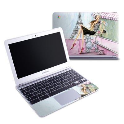 Samsung 11-6 Chromebook Skin - Cafe Paris