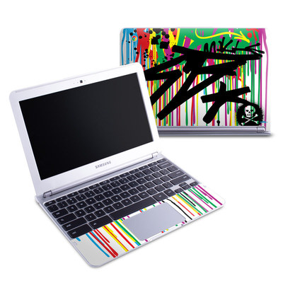 Samsung 11-6 Chromebook Skin - Colour Rain