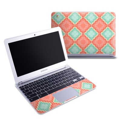 Samsung 11-6 Chromebook Skin - Coral Diamond
