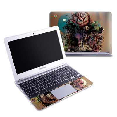 Samsung 11-6 Chromebook Skin - Doom and Bloom