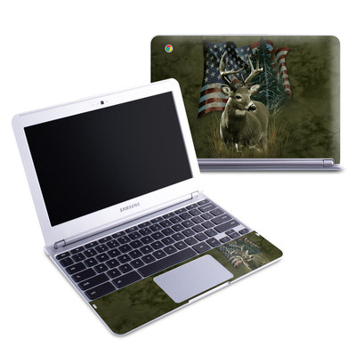 Samsung 11-6 Chromebook Skin - Deer Flag