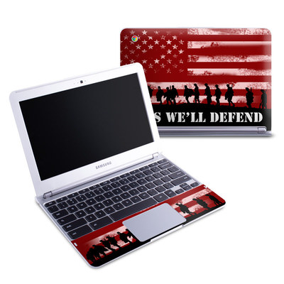 Samsung 11-6 Chromebook Skin - Defend