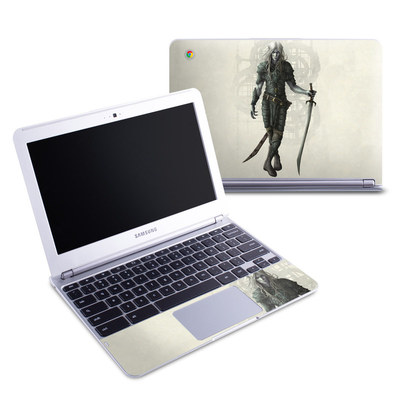Samsung 11-6 Chromebook Skin - Dark Elf