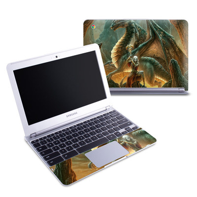 Samsung 11-6 Chromebook Skin - Dragon Mage