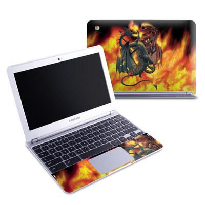 Samsung 11-6 Chromebook Skin - Dragon Wars