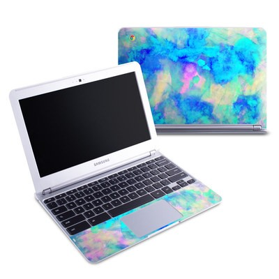 Samsung 11-6 Chromebook Skin - Electrify Ice Blue