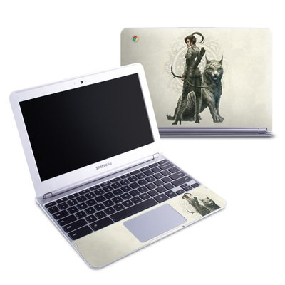Samsung 11-6 Chromebook Skin - Half Elf Girl