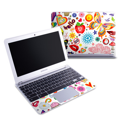 Samsung 11-6 Chromebook Skin - Eye Candy