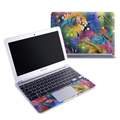 Samsung 11-6 Chromebook Skin - Fascination