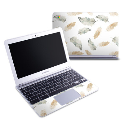 Samsung 11-6 Chromebook Skin - Feathers