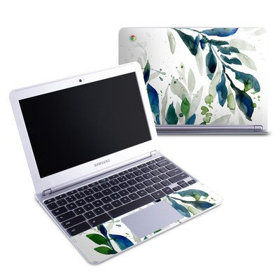 Samsung 11-6 Chromebook Skin - Floating Leaves
