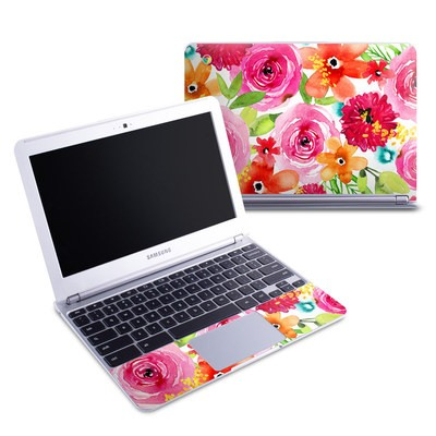Samsung 11-6 Chromebook Skin - Floral Pop