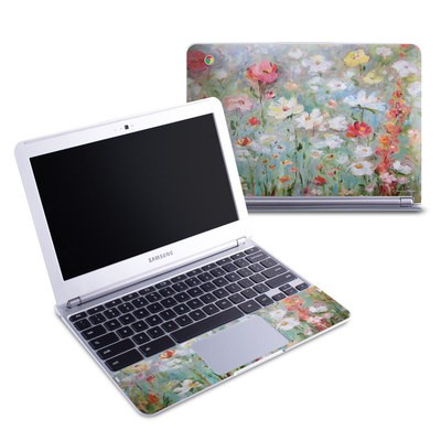 Samsung 11-6 Chromebook Skin - Flower Blooms