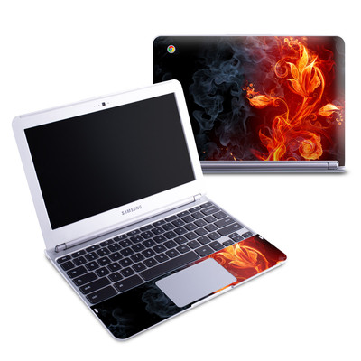 Samsung 11-6 Chromebook Skin - Flower Of Fire