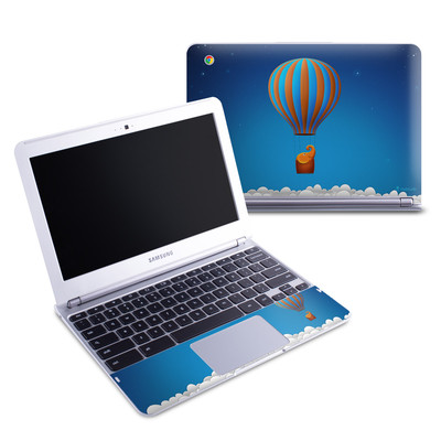 Samsung 11-6 Chromebook Skin - Flying Elephant