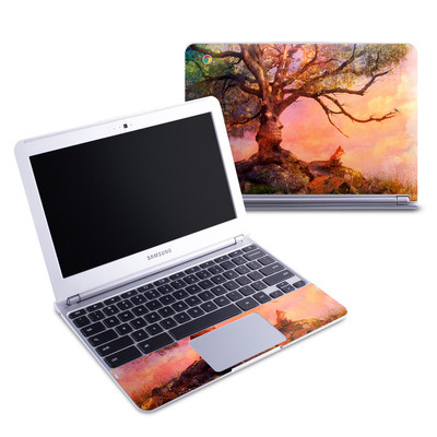 Samsung 11-6 Chromebook Skin - Fox Sunset