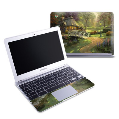 Samsung 11-6 Chromebook Skin - Friendship Cottage