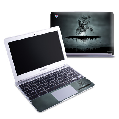 Samsung 11-6 Chromebook Skin - Flying Tree Black