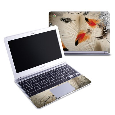Samsung 11-6 Chromebook Skin - Feather Dance