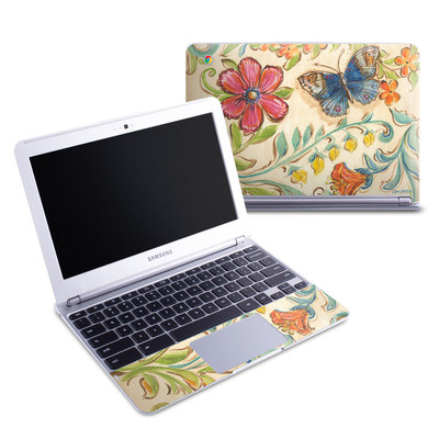 Samsung 11-6 Chromebook Skin - Garden Scroll
