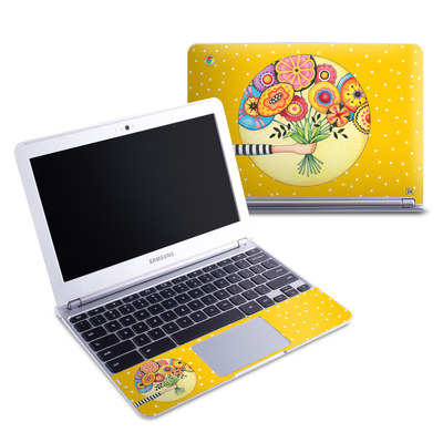 Samsung 11-6 Chromebook Skin - Giving
