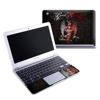 Samsung 11-6 Chromebook Skin - Good and Evil