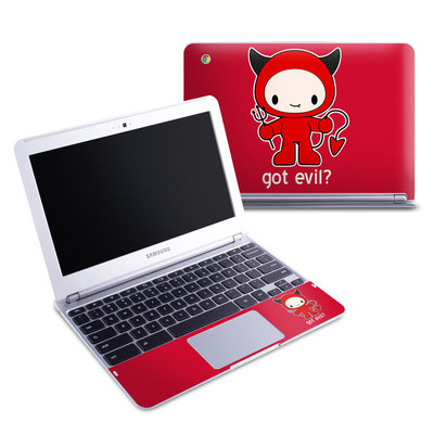 Samsung 11-6 Chromebook Skin - Got Evil