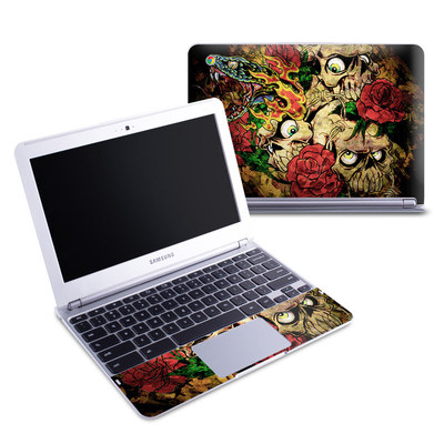Samsung 11-6 Chromebook Skin - Gothic Tattoo