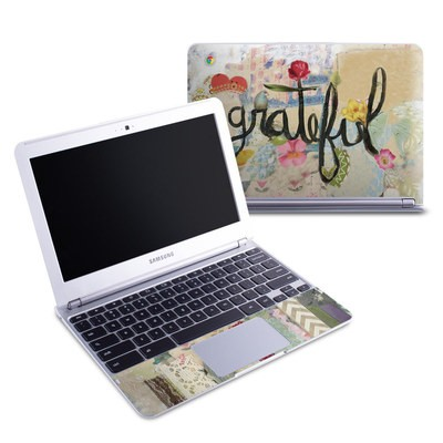Samsung 11-6 Chromebook Skin - Grateful