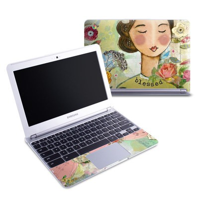 Samsung 11-6 Chromebook Skin - Grateful Soul