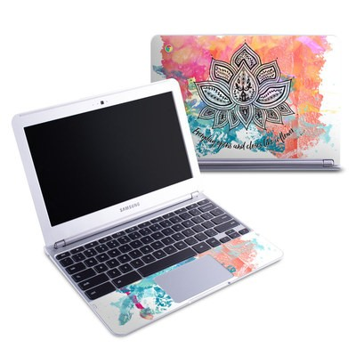 Samsung 11-6 Chromebook Skin - Happy Lotus
