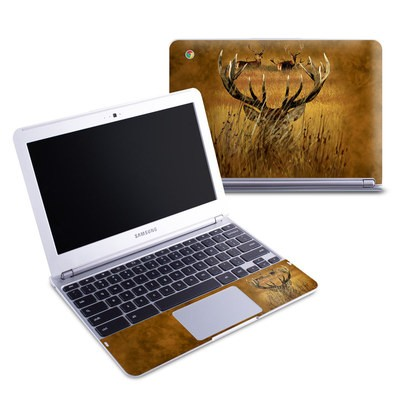 Samsung 11-6 Chromebook Skin - Hiding Buck