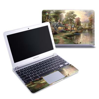 Samsung 11-6 Chromebook Skin - Hometown Lake