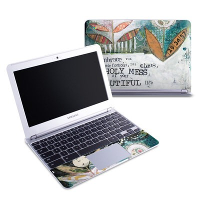 Samsung 11-6 Chromebook Skin - Holy Mess