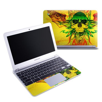 Samsung 11-6 Chromebook Skin - Hot Tribal Skull