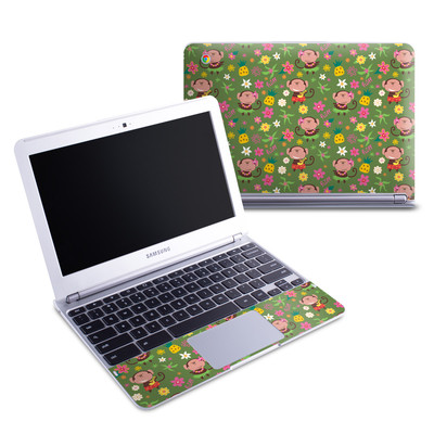 Samsung 11-6 Chromebook Skin - Hula Monkeys